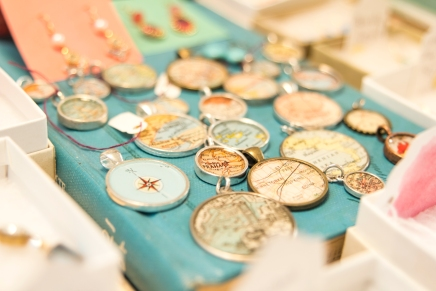 Erin Kate, Orchard Art House, Excelsior, jewelry designer, map charms