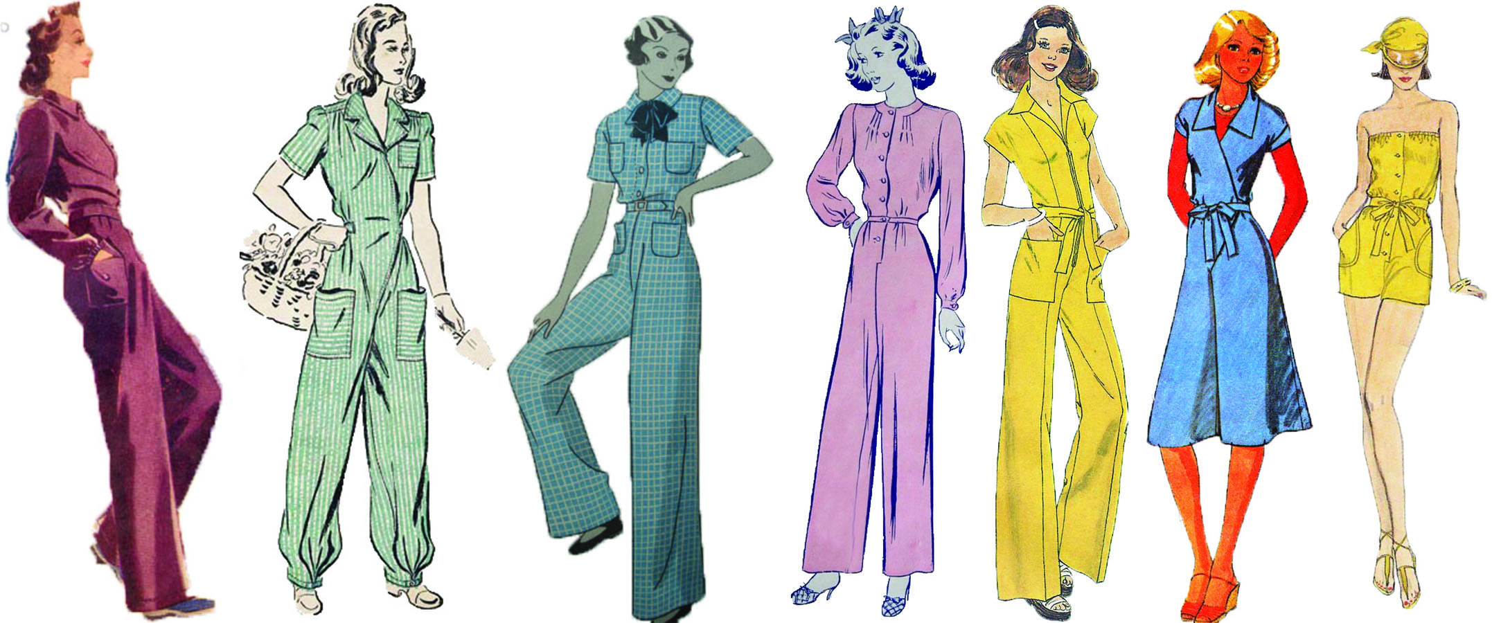 Jumpsuits Rompers A Brief History Tc Style Magazine