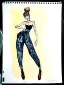 Claire Ward, In the Studio, TC Style Magazine